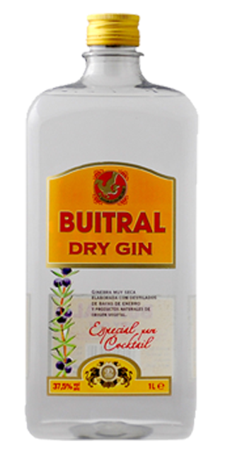 DRY GIN BUITRAL 1L PET