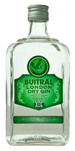 LONDON DRY GIN BUITRAL 70CL